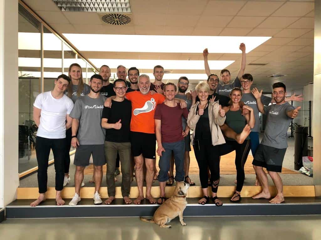 Functional Foot Map Practitioners and Lee Saxbee